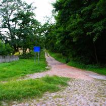 """droga dojścia do """"Wyspy"""""""
